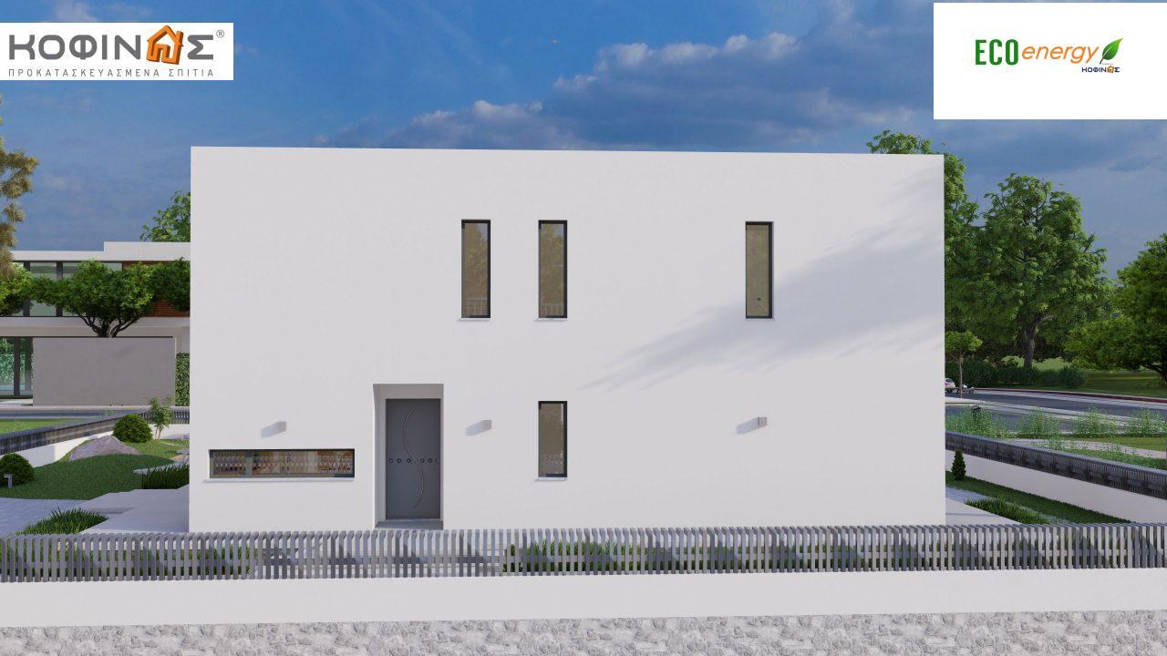 Διώροφη κατοικία D 183Α, συνολικής επιφάνειας 183,77 τ.μ.,+Γκαράζ 41,98 m²(=225,75 m²), στεγασμένοι χώροι 64,39 τ.μ., και μπαλκόνια 32.9 τ.μ.5