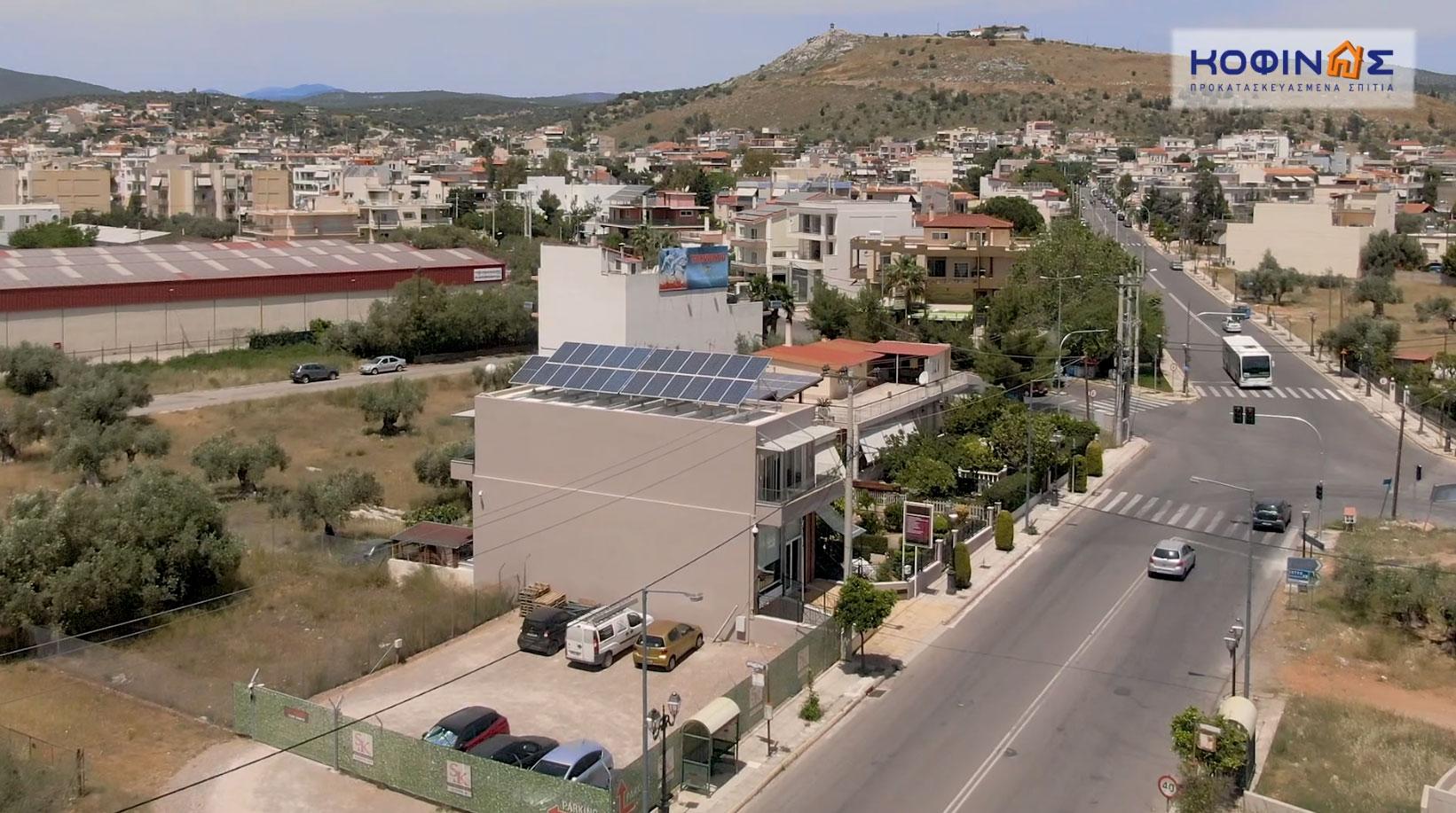 Construction of Kofinas SA in Magoula, Attica