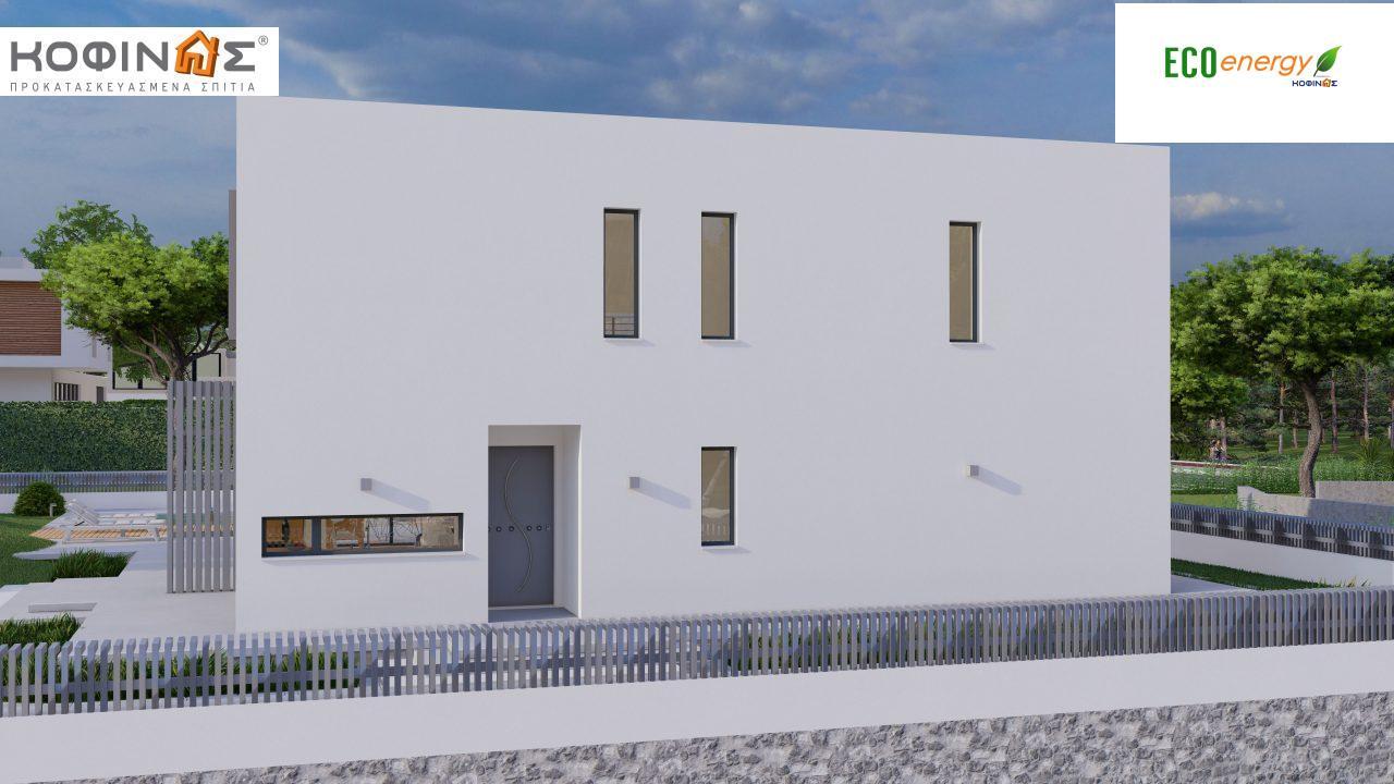 Διώροφη κατοικία D 183B, συνολικής επιφάνειας 183,77 τ.μ.,+Γκαράζ 41,98 m²(=225,75 m²), στεγασμένοι χώροι 59,80 τ.μ., και μπαλκόνια 28.09 τ.μ.7