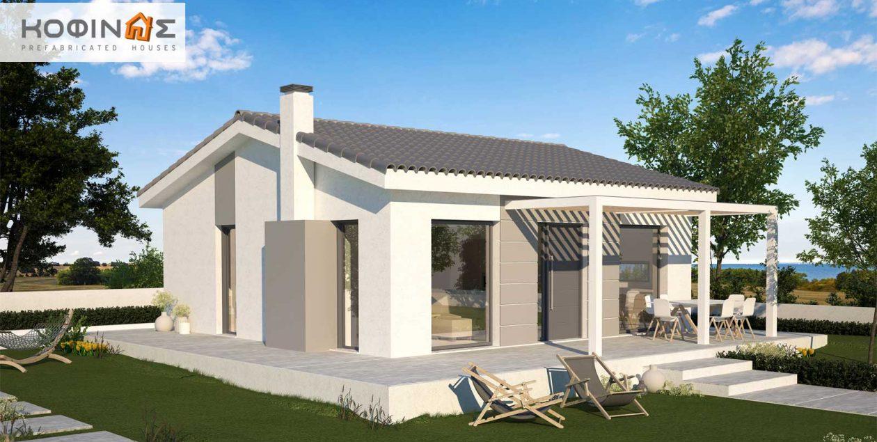 Single story house, KI1-65 (65,60 m²) – Price: 51.200€ featured image