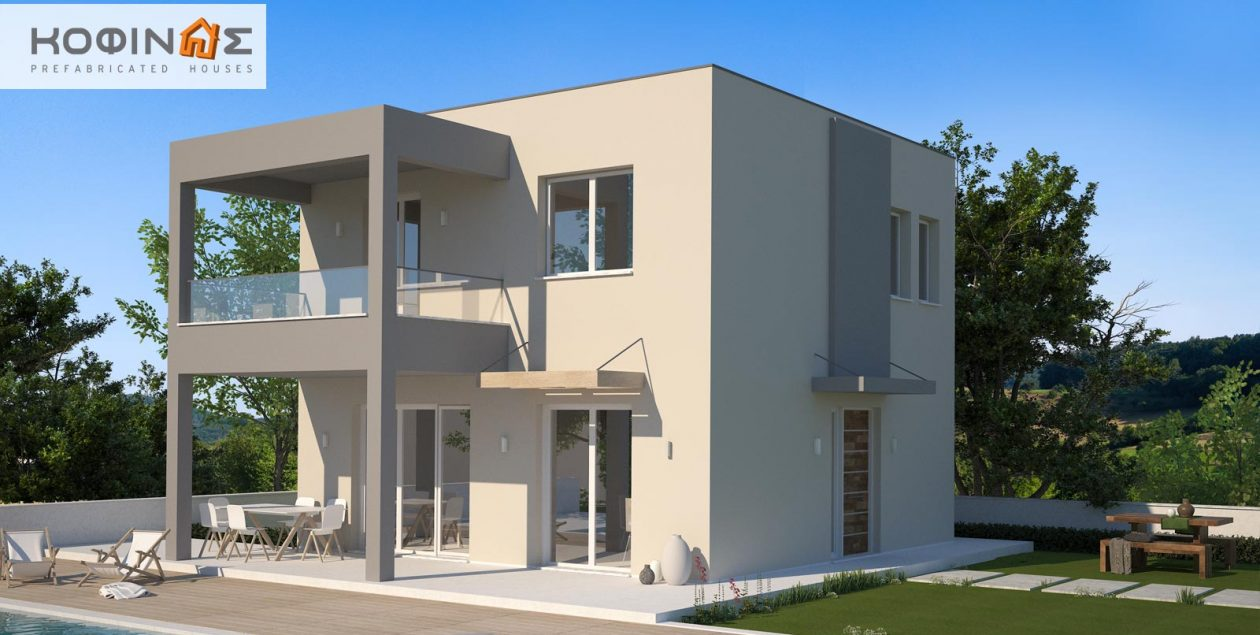 2-story house KD1-115, total surface of 115,52 m² featured image