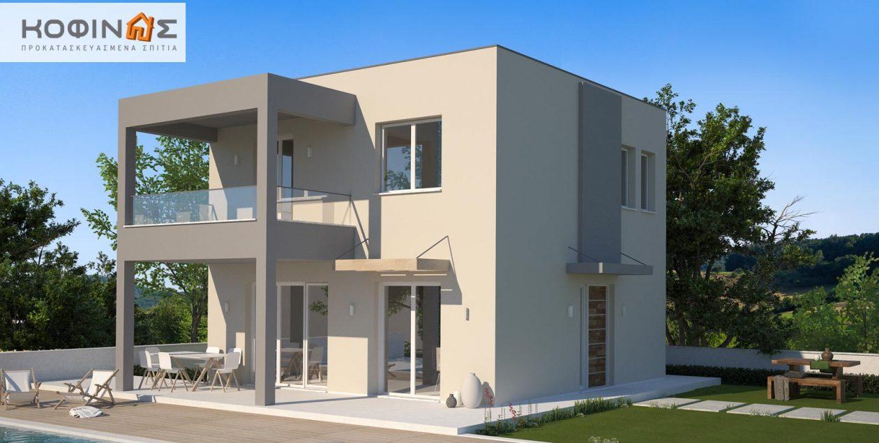 Διώροφη Κατοικία KD1-115 (115,52 τ.μ.) – Τιμή: 98.000€ featured image