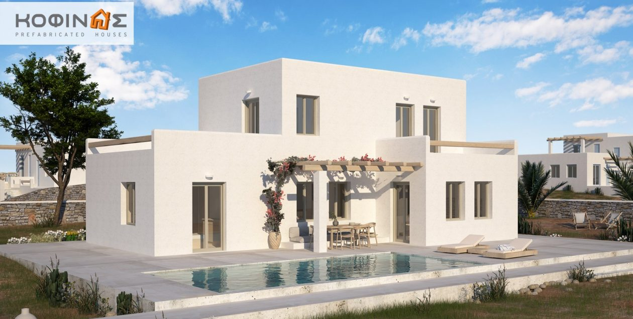 2-story house D-152, total surface of 152,15 m² featured image