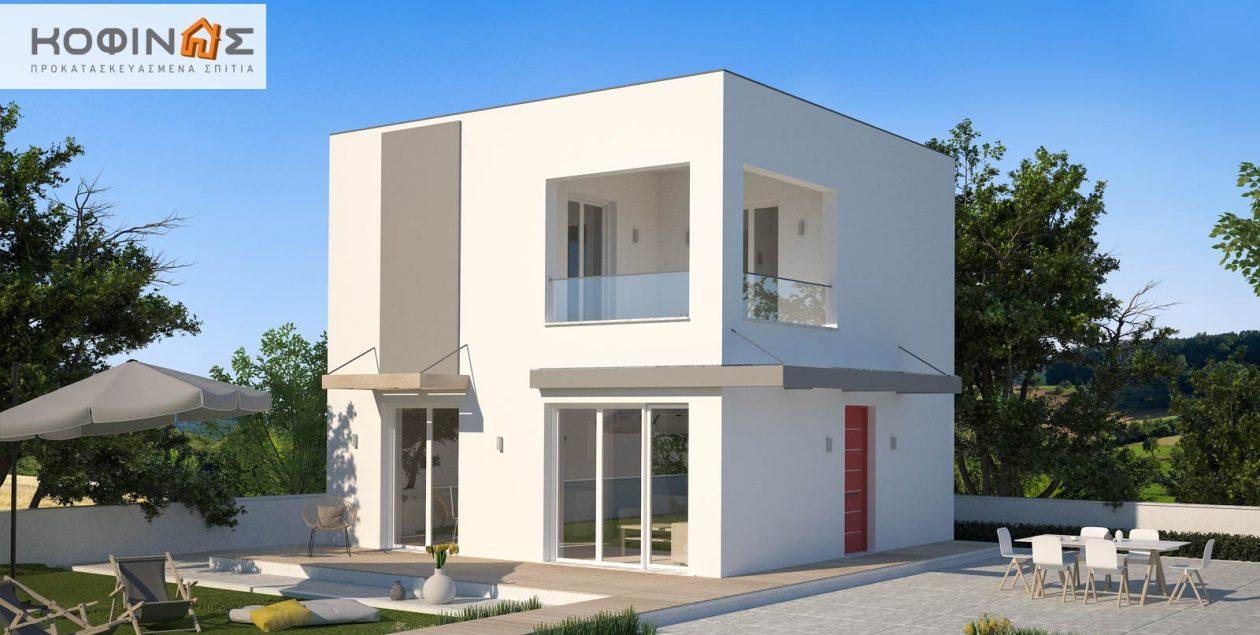 Διώροφη Κατοικία KD1-95 (95,70 τ.μ.) – Τιμή: 85.200€ featured image