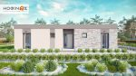 1-story house I-129a, total surface of 129,64 m²