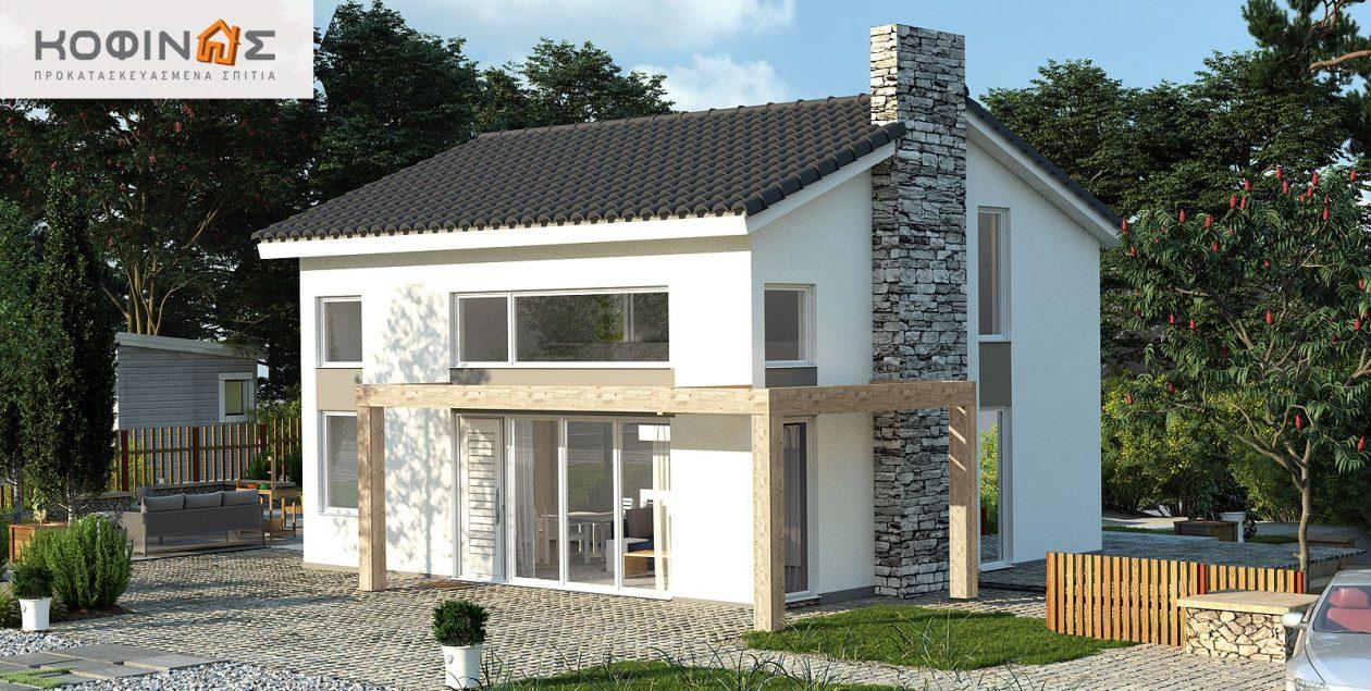 Ισόγεια Κατοικία KIS2-100 (100,37m²) – Τιμή: 88.300€ featured image