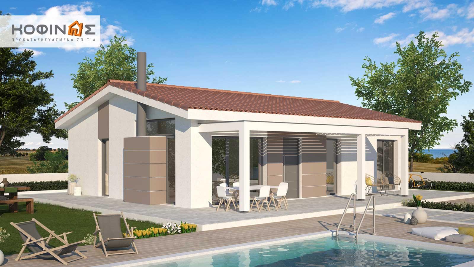 Ισόγεια Κατοικία ΚI1-100 (100,38 τ.μ.) – Τιμή: 95.000€