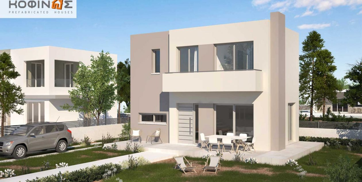 2-story house D-84b, total surface of 84,52 m² featured image