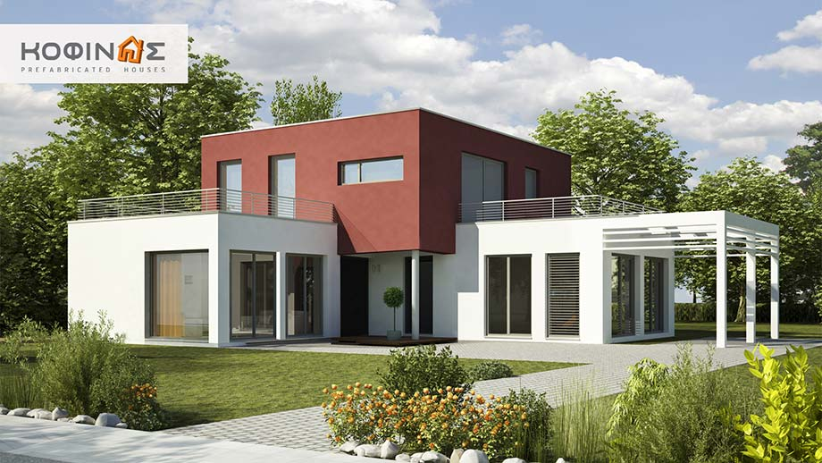 2-story house D-122, total surface of 122,6 m² featured image