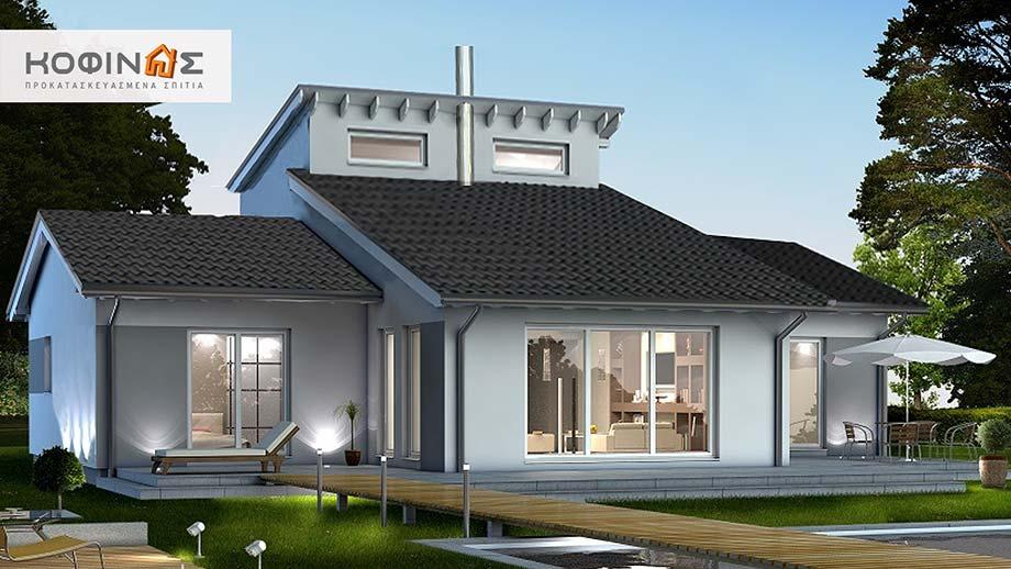 Ισόγεια Κατοικία με Σοφίτα IS-200, συνολικής επιφάνειας 200,00 τ.μ.