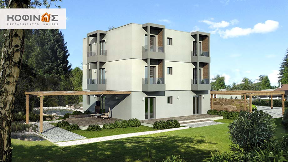3 Story House T 288, Total Surface Of 288,50 M²