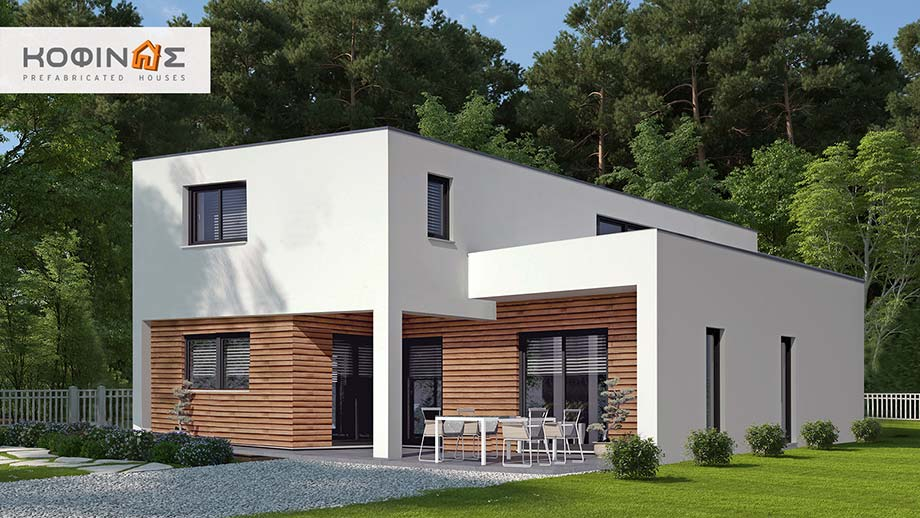 2-story house D-130, total surface of 130,2 m² featured image