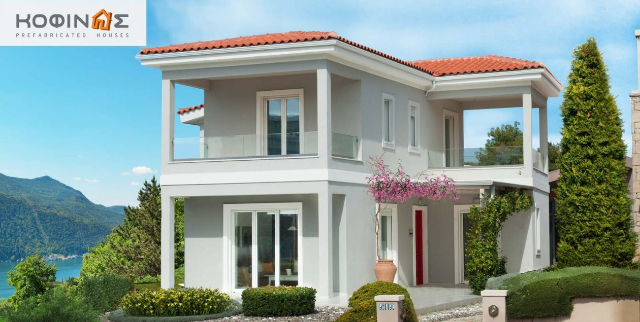 2-story house D-110b, total surface of 110,72 m² featured image