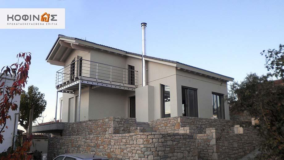 Διώροφη Κατοικία D-117, συνολικής επιφάνειας 117,20 τ.μ.