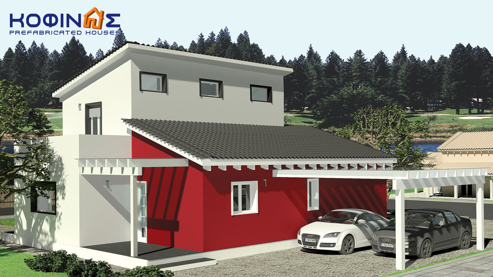 2-story house D-139