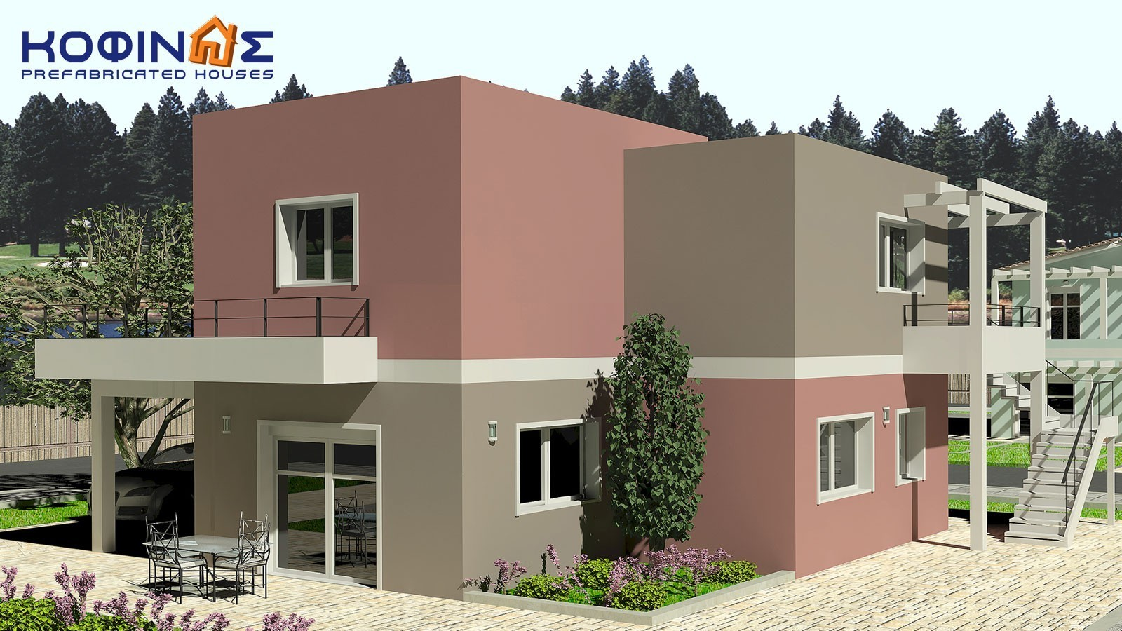 2-story house with independant guest house D-153