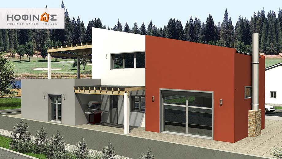 2-story house D-206, total surface of 206,30 m² featured image