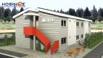 2-story Motel E-394, total space of 394,50 m²