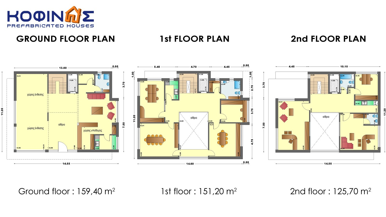 4 Storey Residential Building Floor Plan Commercial Design 3