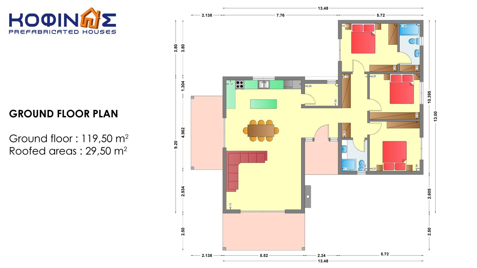 1-story house I-119a