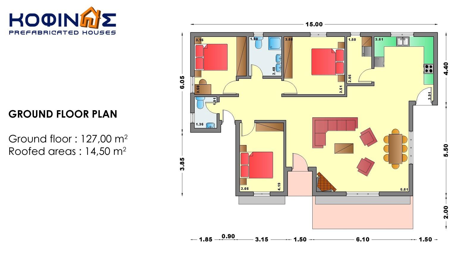 1-story house I-127