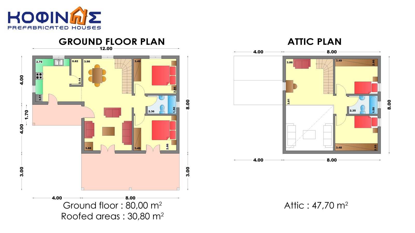 1-story house with attic IS-127