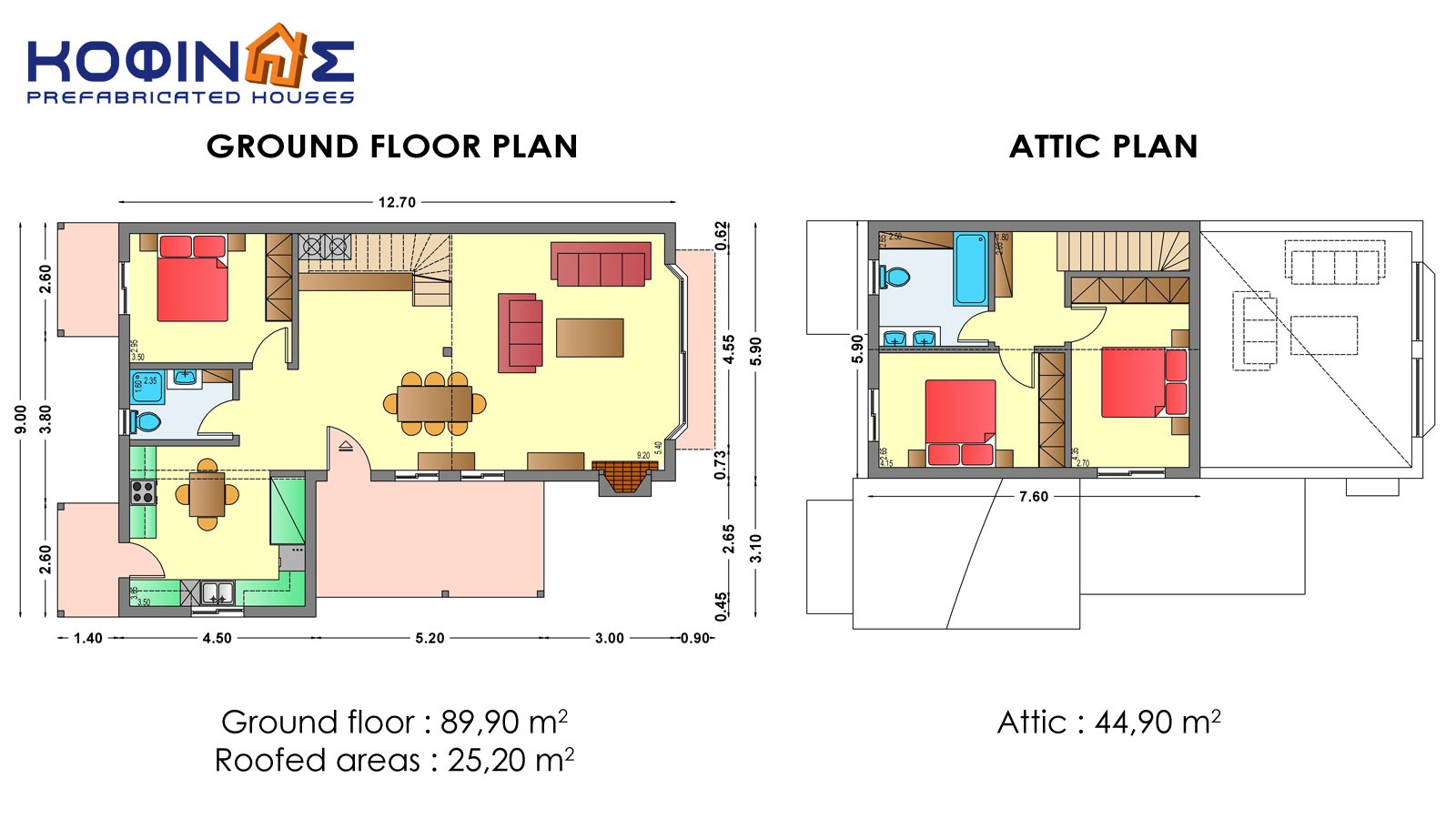 1-story house with attic IS-134