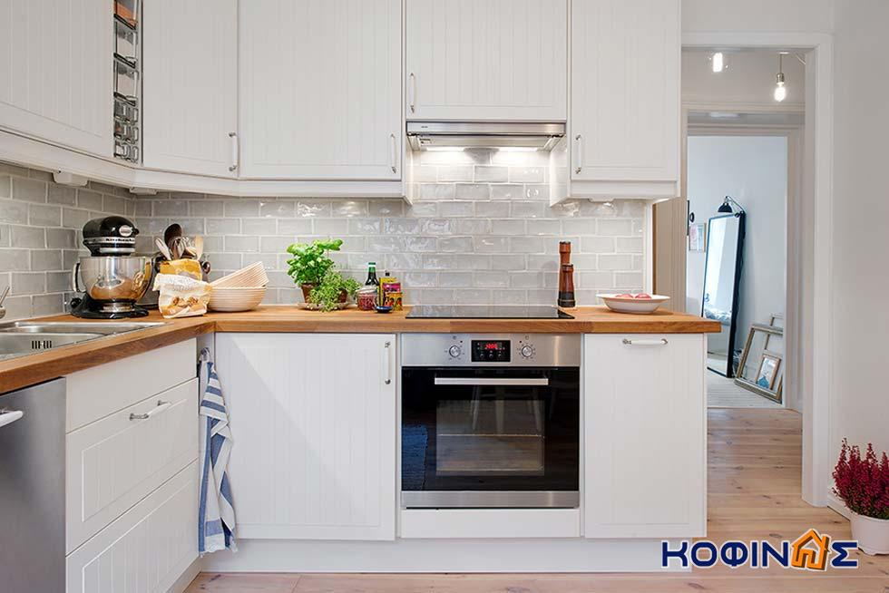 Белые маленькие кухни дизайн