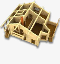 Wooden House Delivery stages