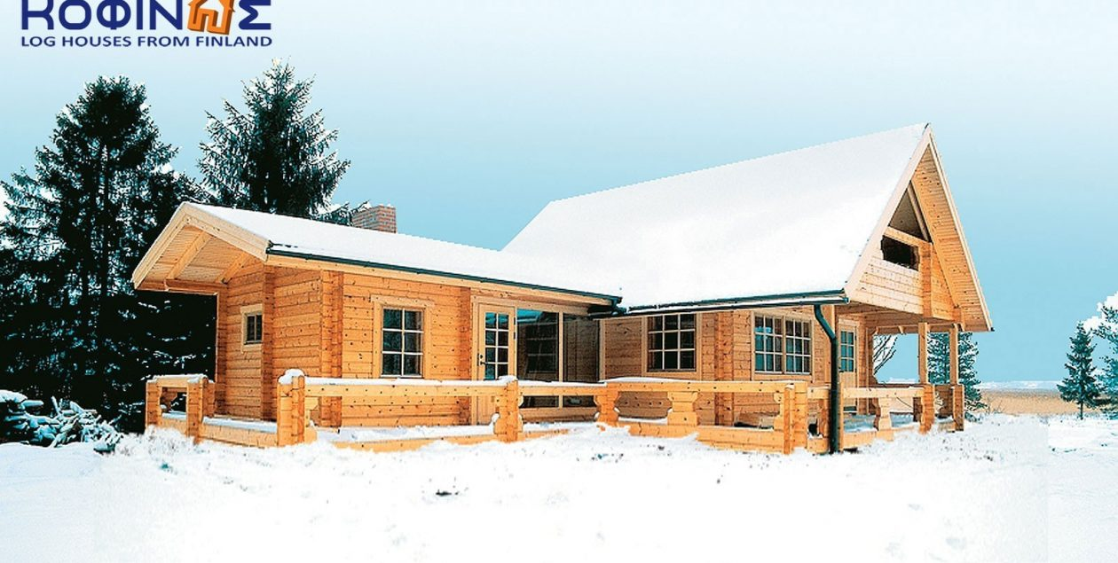 2-story log house XD-92, total surface of 92,00 m² featured image