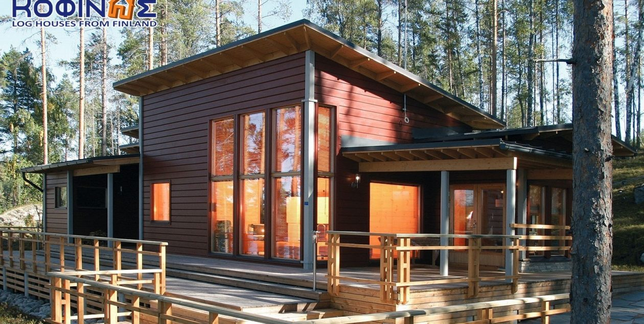 1-story log house XI-110, total surface of 110 m² featured image